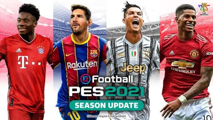 Embed only PES 2021 cover