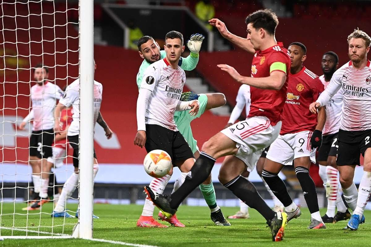 Harry Maguire Manchester United Milan