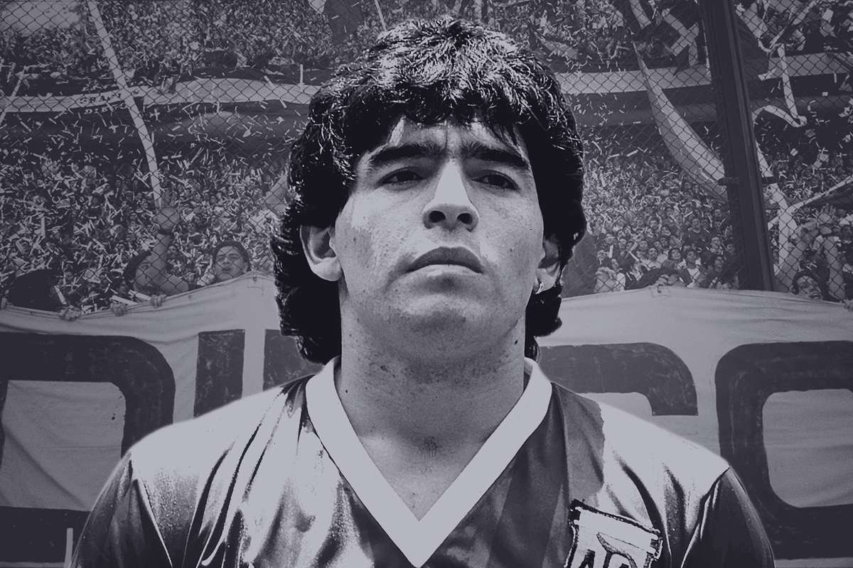 Diego Maradona GFX