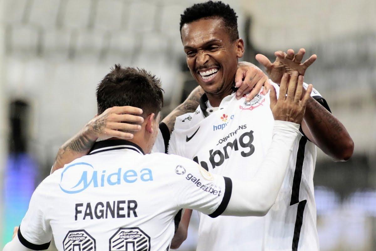 Jô Corinthians Fluminense Brasileirão 13 01 2021