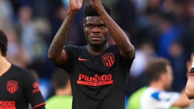 Thomas Partey Atletico Madrid 2019-20