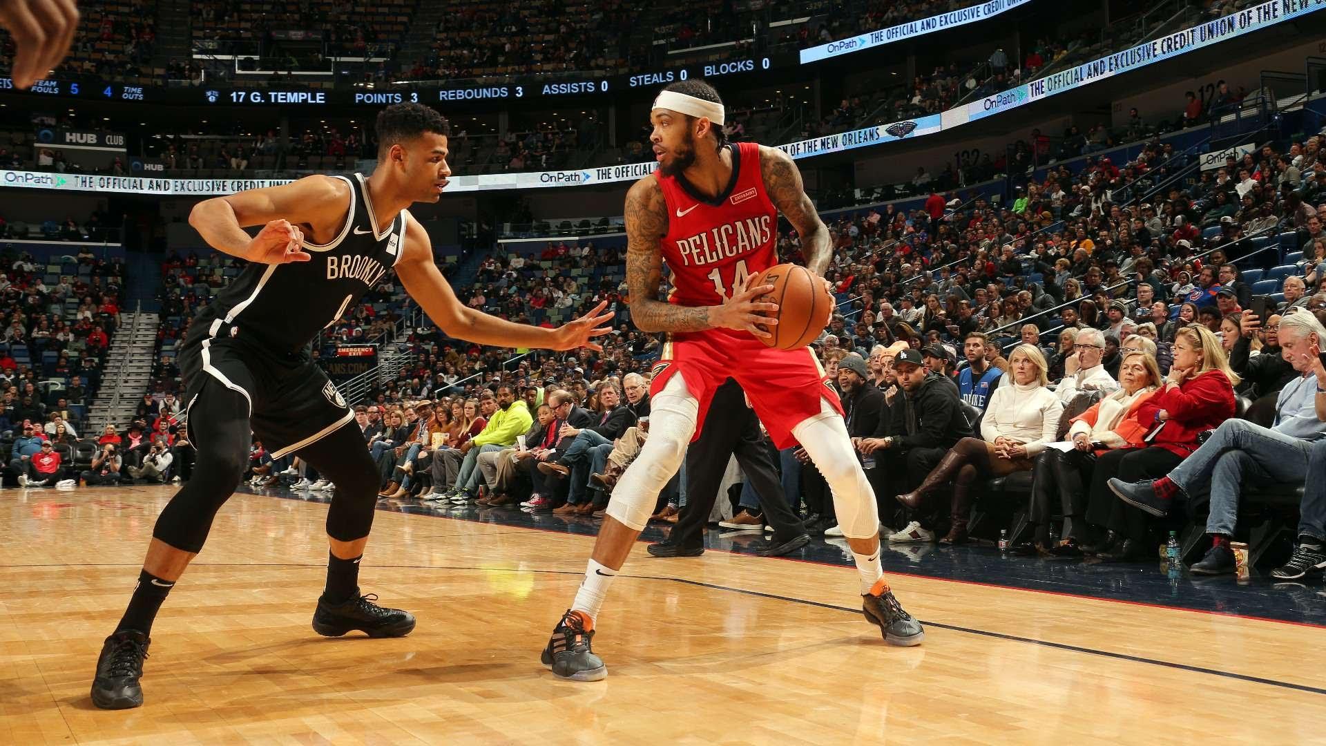 Brandon Ingram Pelicans Nets